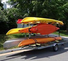 6 Canoe / 12 Kayak Galvanized Trailer New watersports