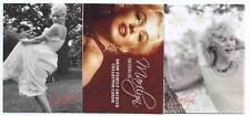 3 Cartes MARILYN MONROE en RELIEF Pailletées ( Neuves )
