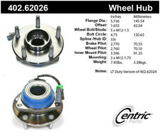 Rear Wheel Hub Assembly For 2009-2012 Chevrolet Corvette 2010 2011 Centric