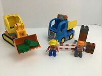 Lego Duplo My First Construction Set Figures Replacement Pieces