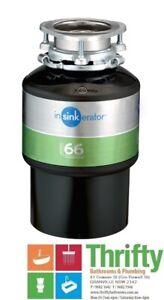 Insinkerator Model 66+ Food Waste Disposal ISE 10065