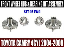 Fits:Toyota Camry 4CYL Wheel Hubs & Bearings Kit Assy 2004-2009 SET OF TWO