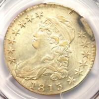 1813 Capped Bust Half Dollar 50C - PCGS AU Details - Rare Coin - Near MS / UNC!