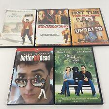 John Cusack Dvd Lot Bundle 5 Movies: Better off Dead, Say Anything, Runaway Jury