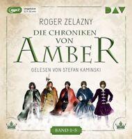 ROGER ZELAZNY - DIE CHRONIKEN VON AMBER. BAND 1-5  5 MP3 CD NEW
