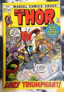 THE MIGHTY THOR #194 (1971) fine - Odin / Loki - Marvel Comics