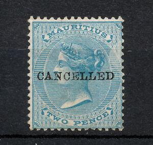 (NNAK 527Z) MAURITIUS 1863 MNG MICH 28