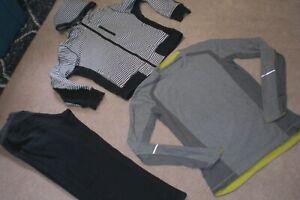 Lot of Rare Mens Lululemon Pants, Hoodie and  Sweater sz M