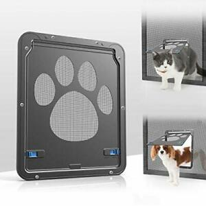 Namsan Pet Screen Door Inside Size 8x10 inches Sliding (1 Count (Pack of 1))