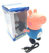 Peppa Pig Bluetooth Wireless Speaker FM Radio MP3 USB PORT TF card slot