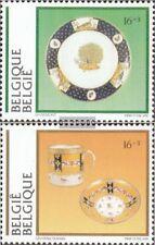 Bélgica 2618-2619 (compl.edición) nuevo con goma original 1994 museos