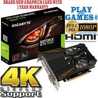 Gigabyte GeForce GTX 1050 2GB GDDR5 HDMI NVIDIA Videojuego Tarjeta gráfica 4k