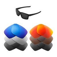 Walleva Replacement Lenses for Oakley Mainlink Sunglasses - Multiple Options