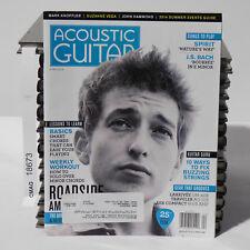 BOB DYLAN April 2014 ACOUSTIC GUITAR MAGAZINE Mark Knopfler Roadside Americana 2