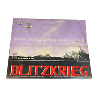 Avalon Hill Blitzkrieg Realistic Game of Lightning Warfare Vintage 1965 Punched