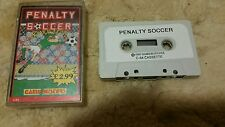 Penalty Soccer Video Game Cassette Commodore 64 C64/C128 💜💜💜 FREE POST