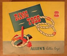 Vintage Ring Toss  Game  / Allen's Better Toys Canada