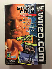 WWF WWE Stone Cold Steve Austin WIRED.COM INTERNET-ACTIVE Figure Brand New