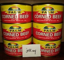 6 cans Palm Corned Beef with Juices, Product of New Zealand, 11.5 oz