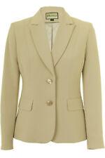 Busy Beige Damen Anzug Jacke Blazer