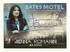 2015 BATES MOTEL Season 1 Autograph Jenna Romanin as Jenna Smile Face Variation