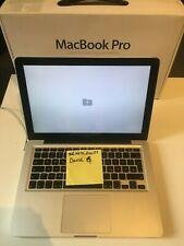 MacBook Pro 2011(früh) Apple Laptop silber 13,3 Zoll