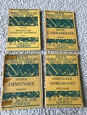 Booklets Heath Visible Vocabulary German Series DC Heath And Company