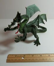 Plastoy EXCELLENT Fantasy Mythical Green Winged Dragon Action Figure