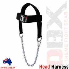Head Harness Exercise Foam Padded Weight Lifting Strap With Metal Chain
