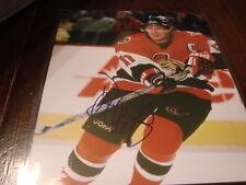 Daniel Alfredsson Autograph / Signed 8 x 10 Photo Ottawa Senators
