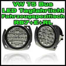 VW T5 Bus LED Tagfahrlicht fahrzeugspezifisch rund Tagfahrleuchten weiß