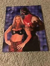 Vintage WWF KANE & TORI Wrestling Pinup Photo 1999 WWE 1990s RARE
