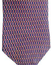 "Nautica Men's Silk Tie 58"" X 4"" Multiple Color Geometric"