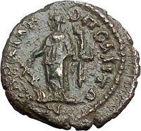 GORDIAN III 238AD Marcianopolis Ancient Roman Coin Fortuna Tyche Luck  i48022