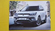 Ssangyong Tivoli XLV Diesel 4x4 Auto brochure sales catalogue 2017 MINT PERFECT