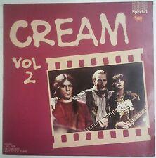 Cream  Vol. 2 LP UK Recopilatorio 1978  Eric Clapton Jack Bruce Ginger Baker