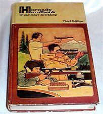 Hornady Handbook of Rifle Pistol Cartridge Reloading Book 3rd Edition