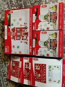 Creatology 3D Structure 240 pc Christmas House New Kids Craft NEW + 5 other kits