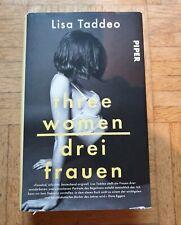 three women // drei frauen // lisa taddeo 9783492059824 Neuwertig