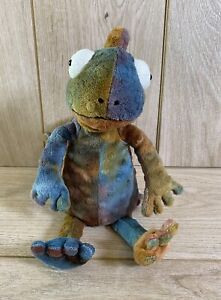 """Jellycat Colin the Chameleon 12"""" Reptile Soft Plush Toy - Great Condition"""