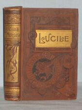 1887 BOOK LUCILE BY OWEN MEREDITH