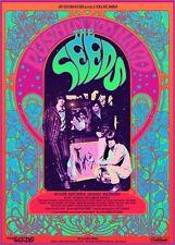 The Seeds - Pushin' Too Hard - SMALL 2014 documentary poster!! Bob Masse