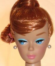VINTAGE BARBIE REPRO/REPRODUCTION-NUDE DOLL-TITIAN RED SWIRL PONYTAIL-MINT