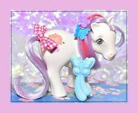 ❤️My Little Pony MLP G1 Vtg 1983 Magic Message Magic Hat & Original BRUSH❤️