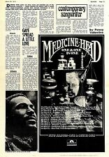 (Sds)24/3/1973Pg13 Marvin Gaye, Contemporary Songwriter Article & Picture