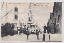 B82343 puerto del rosario de santa fe ship bateaux argentina front back image