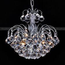 CRISTAL elegantes VINTAGE Contemporáneo Colgante Lámpara de techo araña PANTALLA