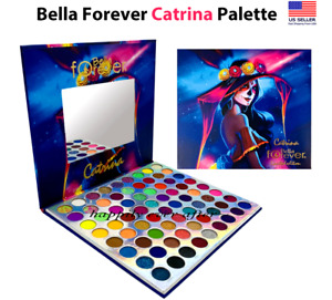 Bella Forever CATRINA 72 PIGMENTED COLORS Palette, Authentic, Neutral to Neon!!