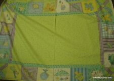 Ador-label baby crib quilt flannel panel Wilmington fabric