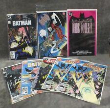 Lot 8 Batman Comics Full Circle Legend Year 3 Dark Knight DC CB1
